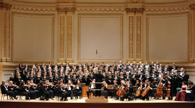 Oratorio Society Of New York at Isaac Stern Auditorium
