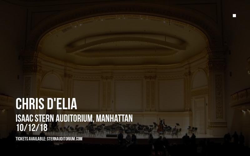 Chris D'Elia at Isaac Stern Auditorium