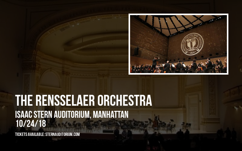 The Rensselaer Orchestra at Isaac Stern Auditorium