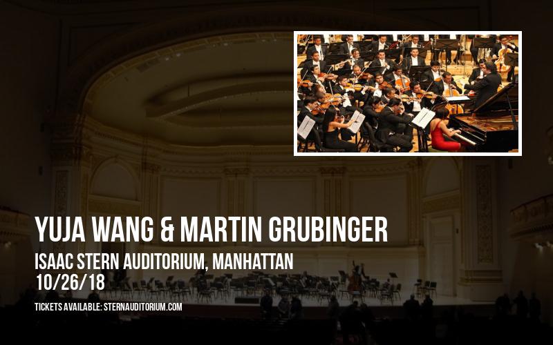Yuja Wang & Martin Grubinger at Isaac Stern Auditorium