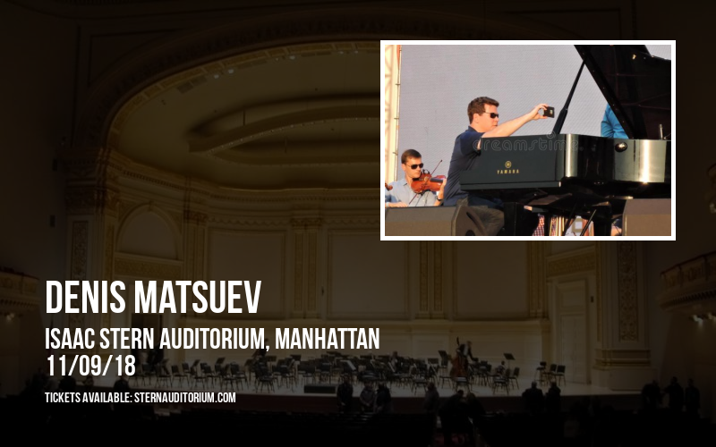 Denis Matsuev at Isaac Stern Auditorium