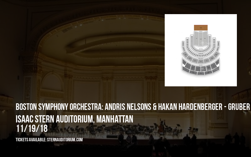 Boston Symphony Orchestra: Andris Nelsons & Hakan Hardenberger - Gruber & Mahler at Isaac Stern Auditorium