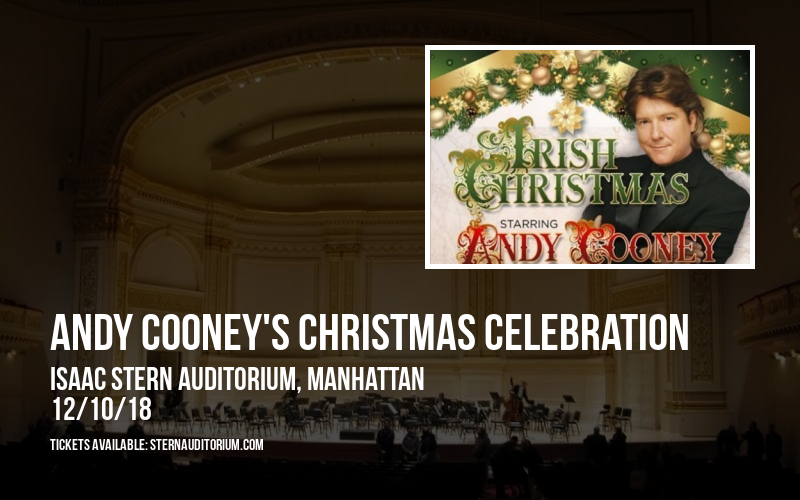 Andy Cooney's Christmas Celebration at Isaac Stern Auditorium