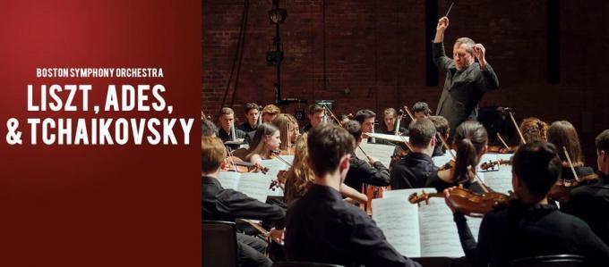 Boston Symphony Orchestra: Thomas Ades & Kirill Gerstein - Liszt & Tchaikovsky at Isaac Stern Auditorium