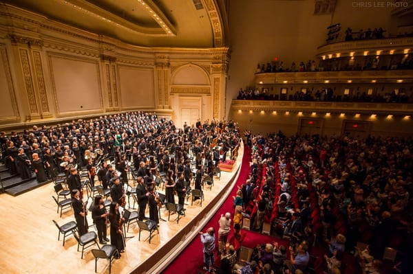 New York Youth Symphony at Isaac Stern Auditorium