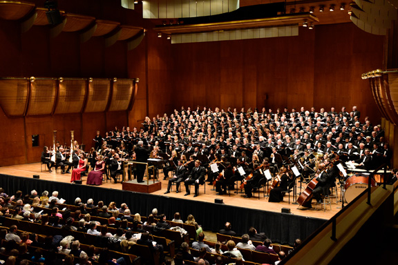 Distinguished Concerts Orchestra and Distinguished Concerts Singers International: Messiah...Refreshed! at Isaac Stern Auditorium
