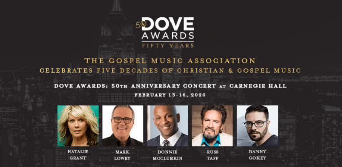 50th Anniversary of The Dove Awards Celebration Concert at Isaac Stern Auditorium