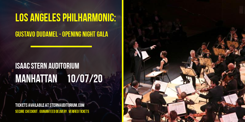 Los Angeles Philharmonic: Gustavo Dudamel - Opening Night Gala at Isaac Stern Auditorium