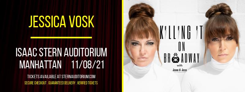Jessica Vosk at Isaac Stern Auditorium