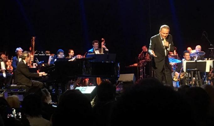 Bob Anderson - Reenacting a Frank Sinatra Performance at Isaac Stern Auditorium
