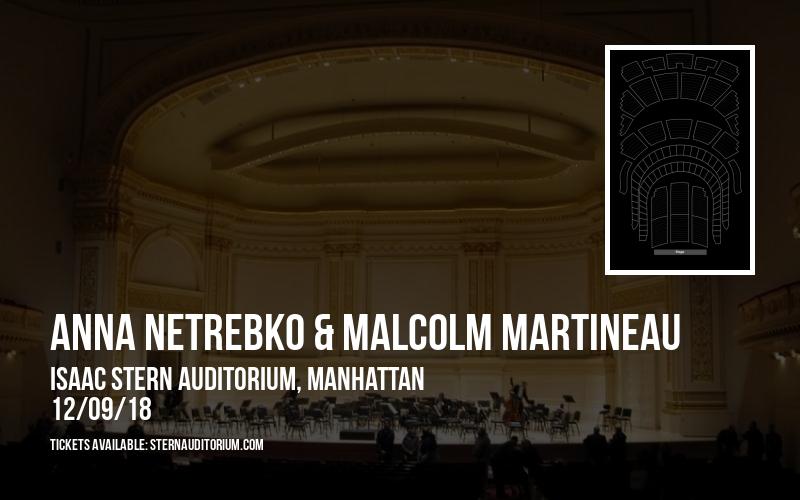 Anna Netrebko & Malcolm Martineau at Isaac Stern Auditorium