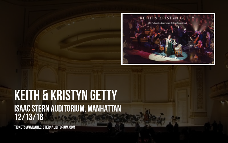Keith & Kristyn Getty at Isaac Stern Auditorium
