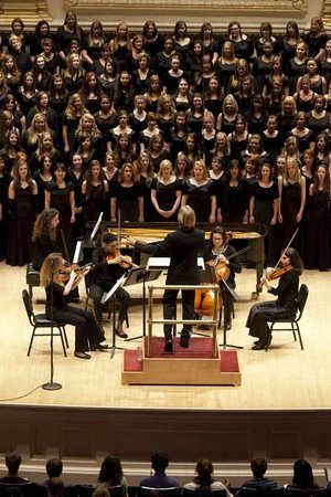 Distinguished Concerts International New York: The Holiday Music of Eric Whitacre at Isaac Stern Auditorium
