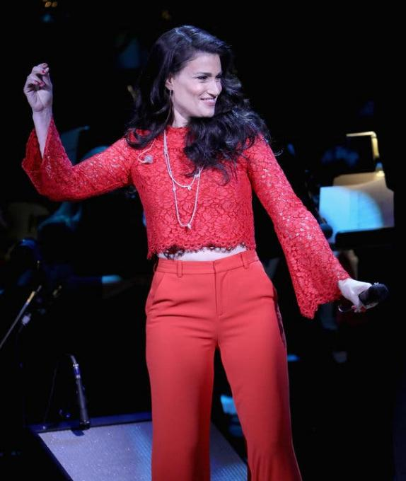 Idina Menzel at Isaac Stern Auditorium