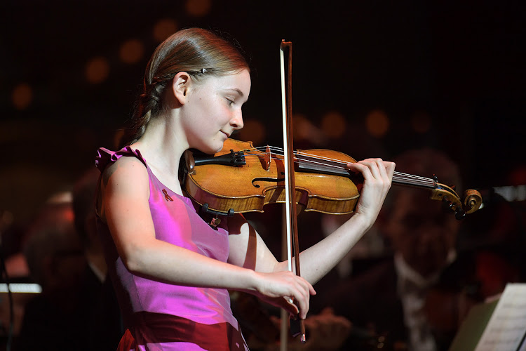 Alma Deutscher at Isaac Stern Auditorium
