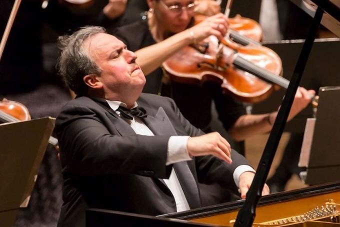 Yefim Bronfman at Isaac Stern Auditorium