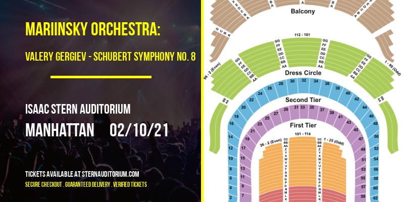 Mariinsky Orchestra: Valery Gergiev - Schubert Symphony No. 8 [CANCELLED] at Isaac Stern Auditorium