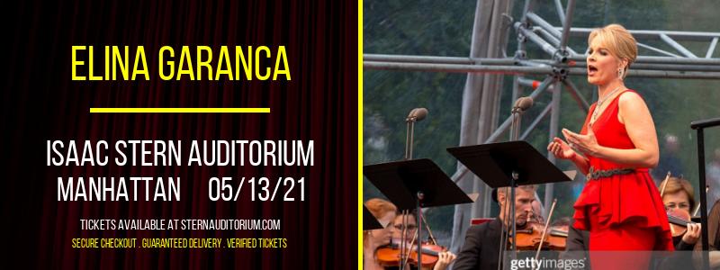 Elina Garanca [CANCELLED] at Isaac Stern Auditorium