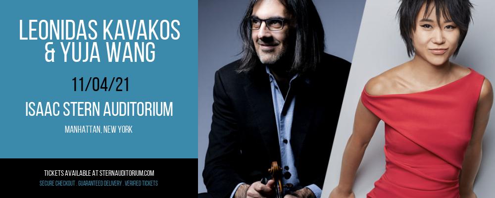 Leonidas Kavakos & Yuja Wang at Isaac Stern Auditorium
