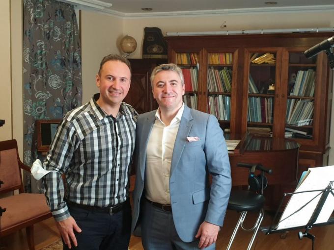 Maxim Vengerov & Simon Trpceski at Isaac Stern Auditorium